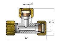 Соединение тройниковое СТ14